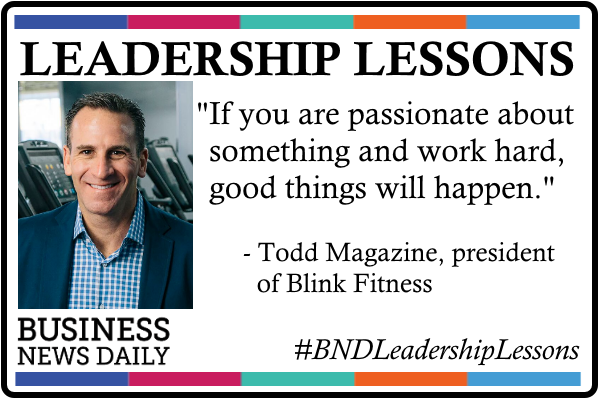 Leadership Lessons: Follow Your Passion and Work Hard