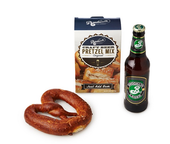 Craft beer pretzel mix, $8