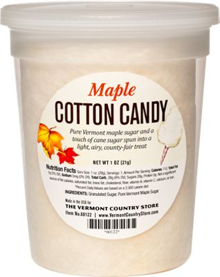 Maple Cotton Candy Set of 2, $10.90