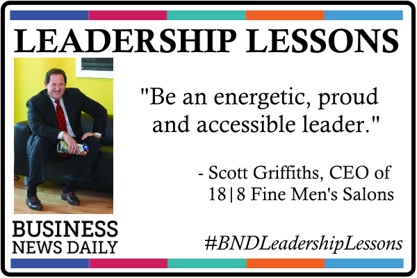 Leadership Lessons: Be Energetic, Accessible and Proud