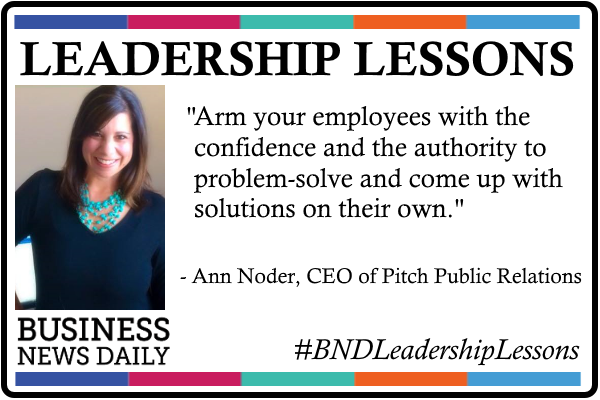 Leadership Lessons: Empower Employees to Solve Their Own Problems