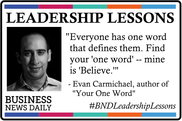 Leadership Lessons: Find the 'One Word' That Inspires Each Employee