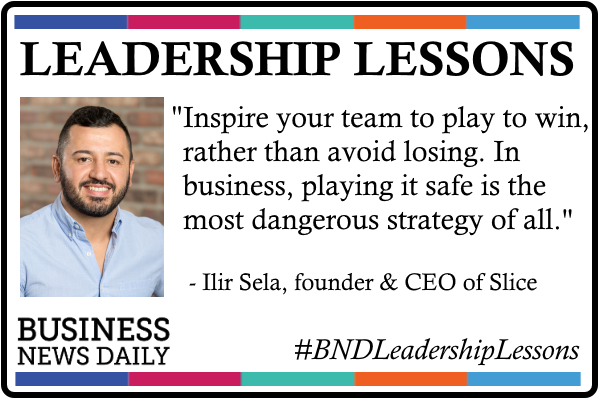 Leadership Lessons: Don't Play It Safe, But Do Play to Win
