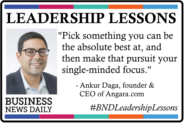 Leadership Lessons: Fiercely Focus on What You're Best At