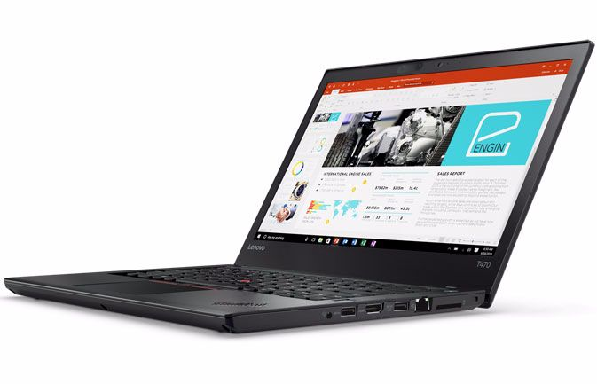 Lenovo's ThinkPad T470 2017 is Lighter and More Secure