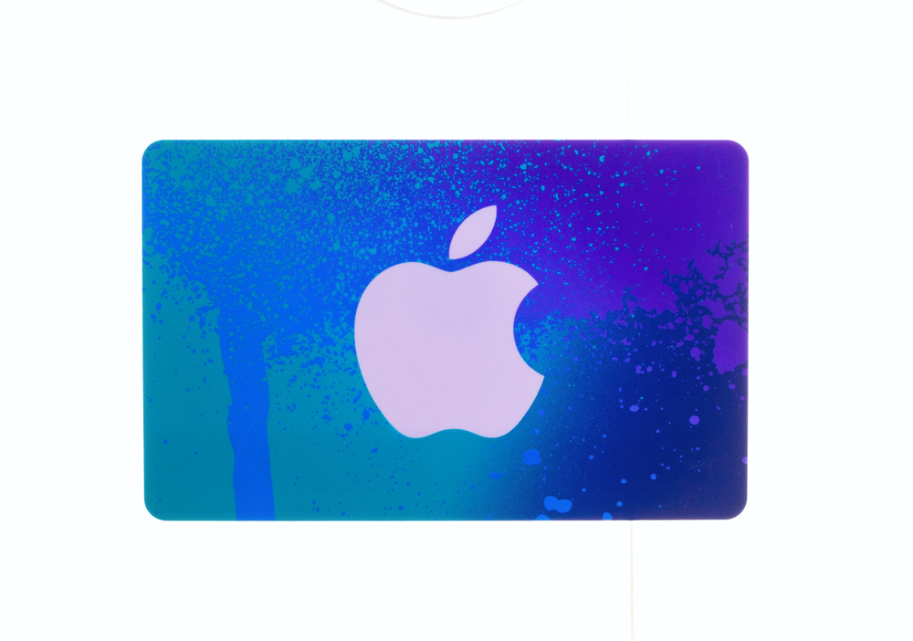 iTunes or Google Play gift card, $5-$15