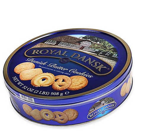 Royal Dansk® 32 oz. Danish Butter Cookies Tin, $5