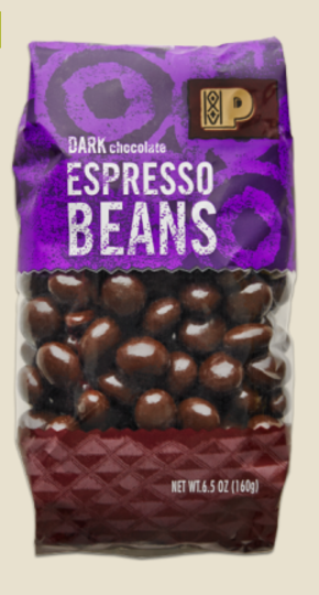 Chocolate Covered Espresso Beans, $6