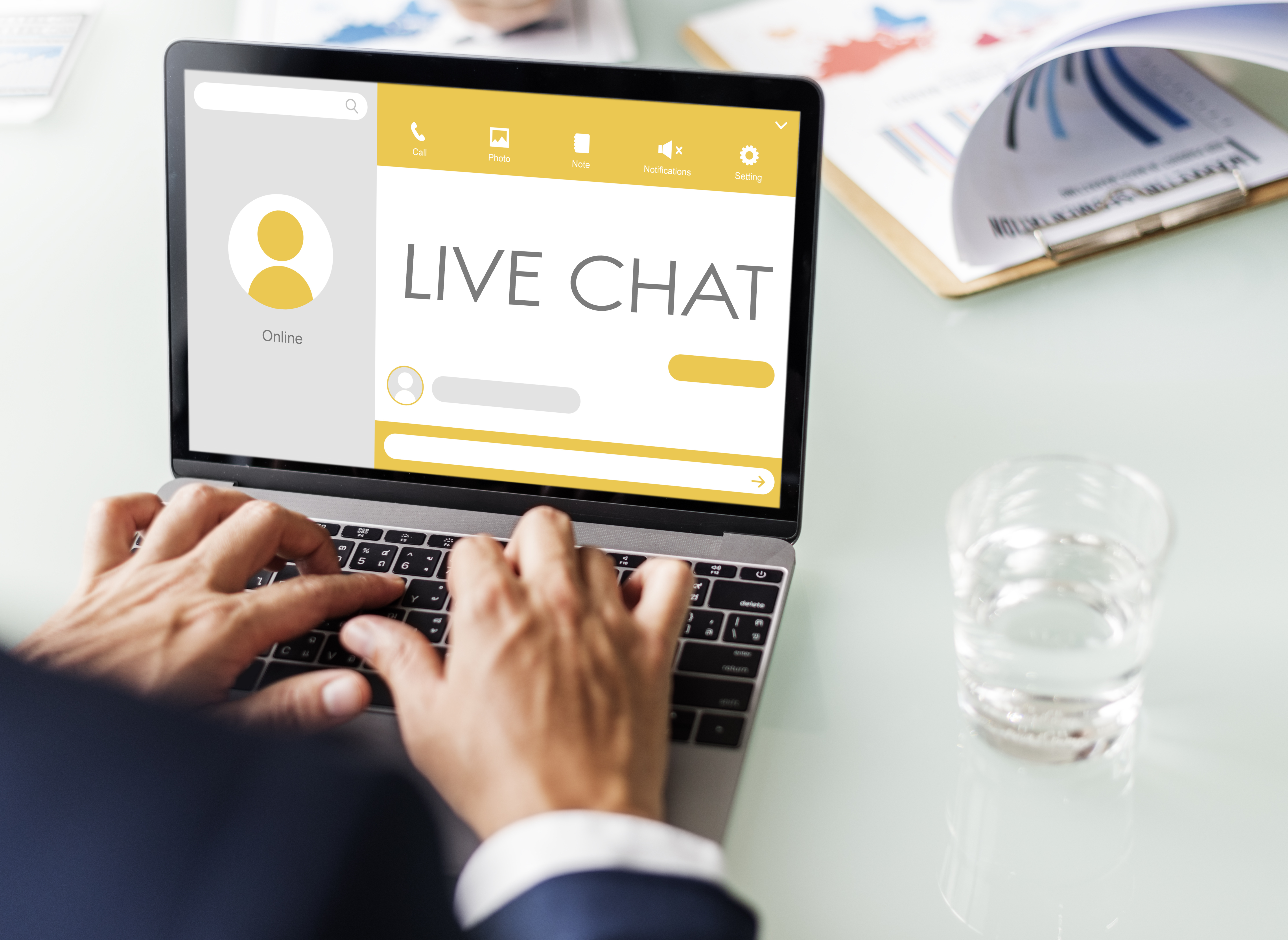 best practices for responding to live chat