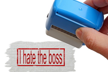 inner office relationships, bad bosses