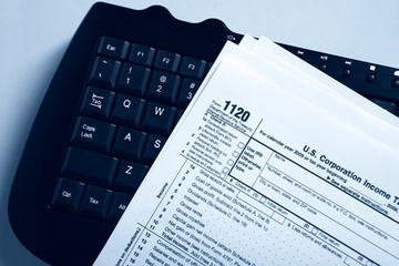 Form 1120, corporate income tax