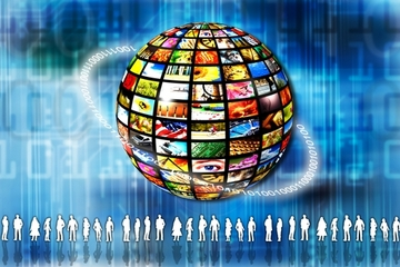 Global social media networkins