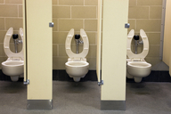 A recent national survey shows that a majority of mobile phone users use their devices in the bathroom.