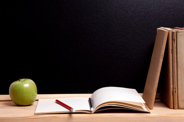apple for the teacher, books