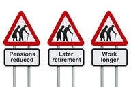 Two out of three Americans say they are not looking forward to retirement.