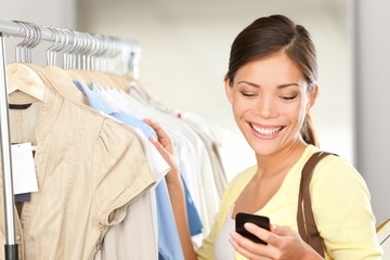 Showrrom shoppers ore likely to make in-store purchases than other shoppers