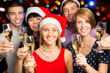 More than nine out of 10 companies will have holiday parties this year