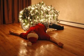 They may be festive, but the holidays can also cause stress, exhaustion and even physical injury
