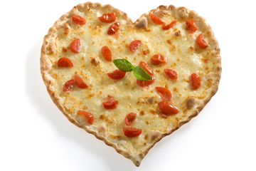valentine's day, heart shaped pizza, valentine's day with kids
