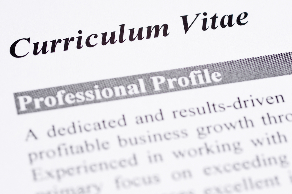 what is a cv curriculum vitae