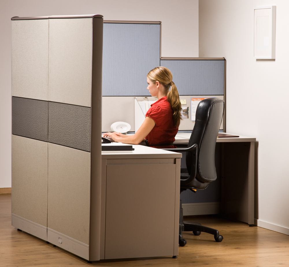 Cubicles for office Executive Business News Daily 15 Office Cubicle Solutions For Small Businesses