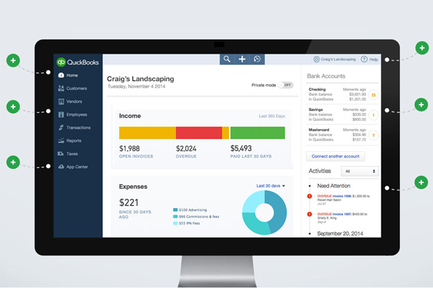 QuickBooks Online - Best Business Accounting Software - photo#27