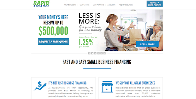 Best Lenders For Merchant Cash Advance
