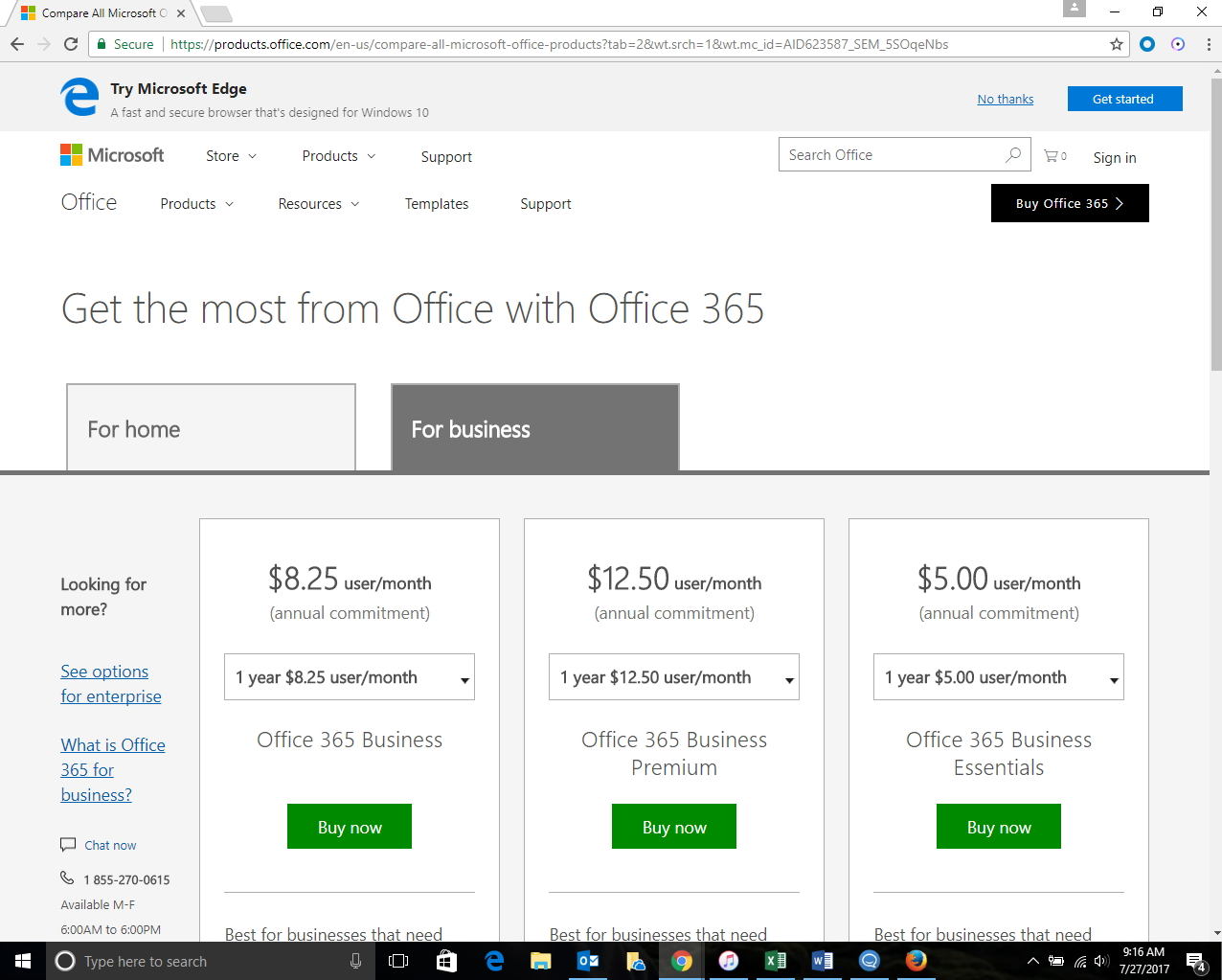 Microsoft Office 365 (2017): Best New Business Features