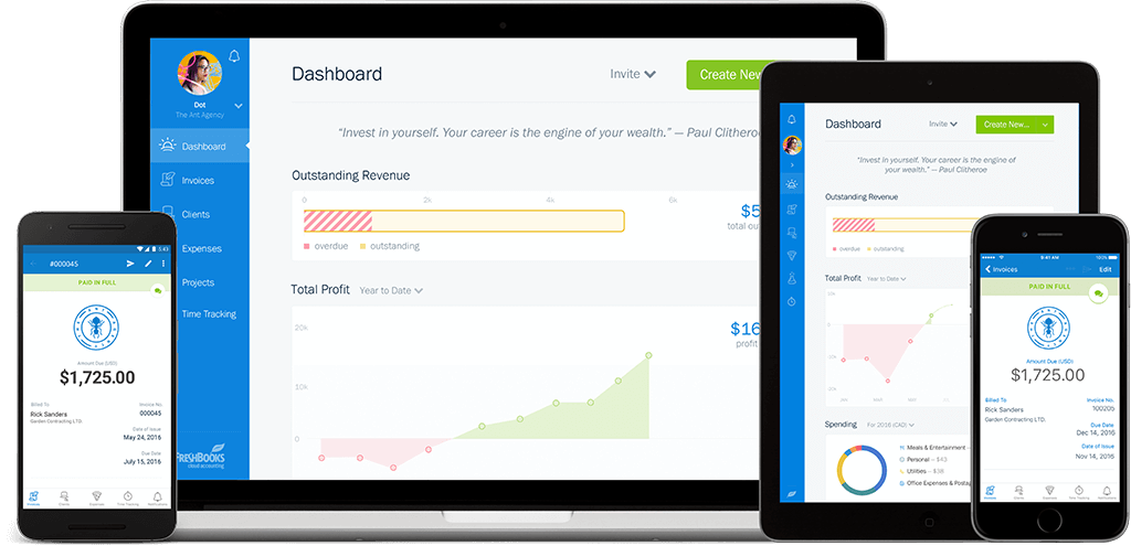 Image result for freshbooks accounting