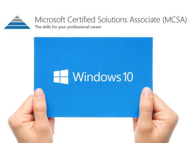 Mcsa Windows 10 Certification Available Today